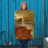 Curiosity is free-wheeling intelligence. - 24x36 Poster