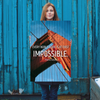 Every noble work is at first impossible. - 24x36 Poster