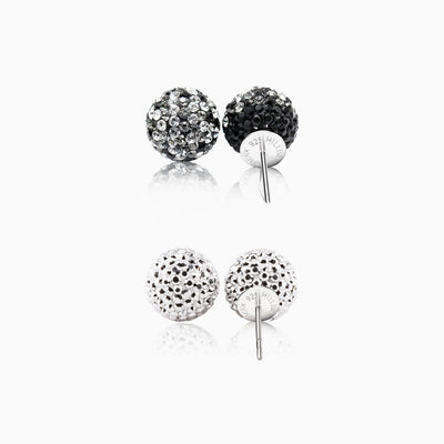 12mm Sparkle Ball™ Stud Set - Fade/Chrome
