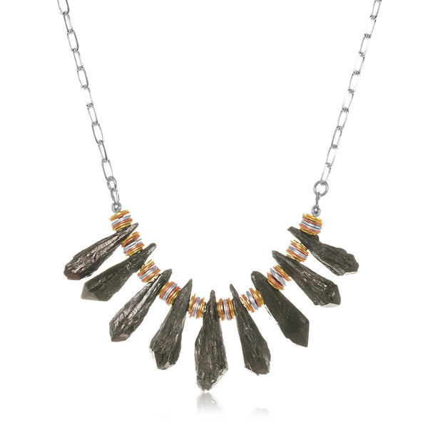 Alta Necklace Black