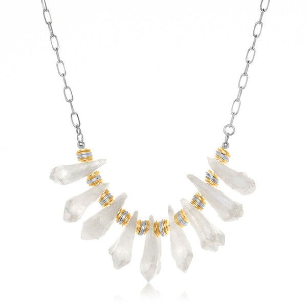 Alta Necklace White