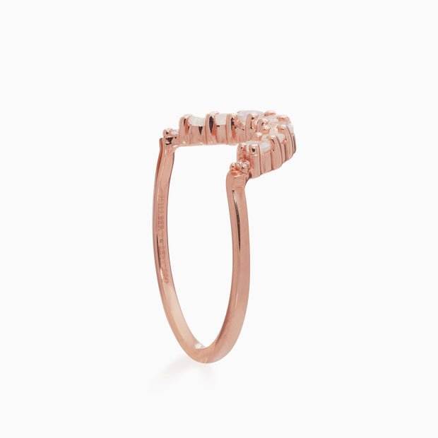 Rachel Stacking Ring - Moonstone