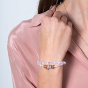 Hydrangea Sparkle Ball™ Double Wrap Bracelet