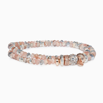 Lustre Sparkle Ball™ Double Wrap Bracelet
