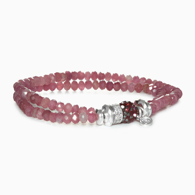 Sugarplum Sparkle Ball™ Double Wrap Bracelet