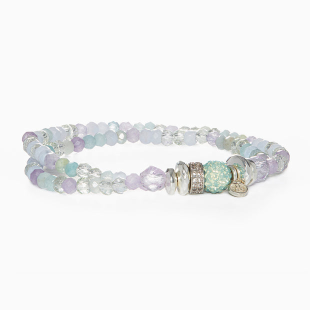 Sparkle Ball™ Double Wrap Bracelet