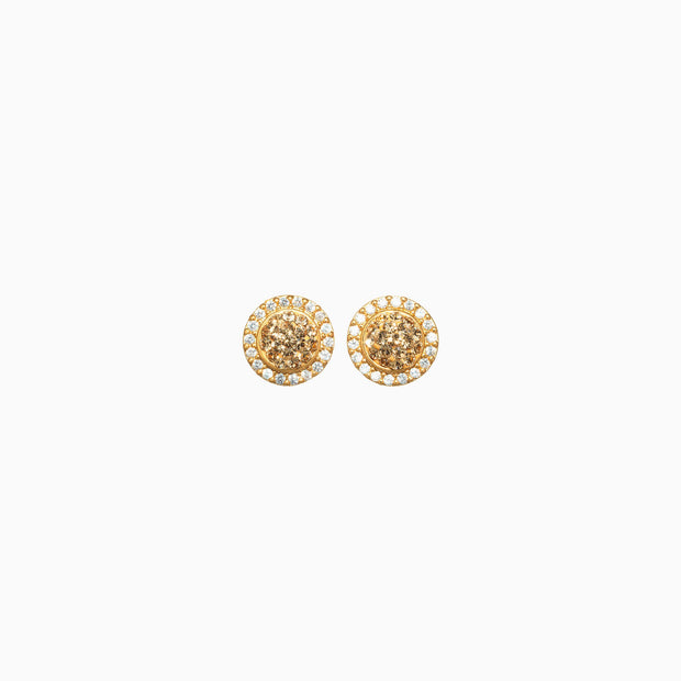 Sparkle Ball™ Halo Earrings