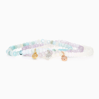 Greta Stretch Bracelet Triple Set
