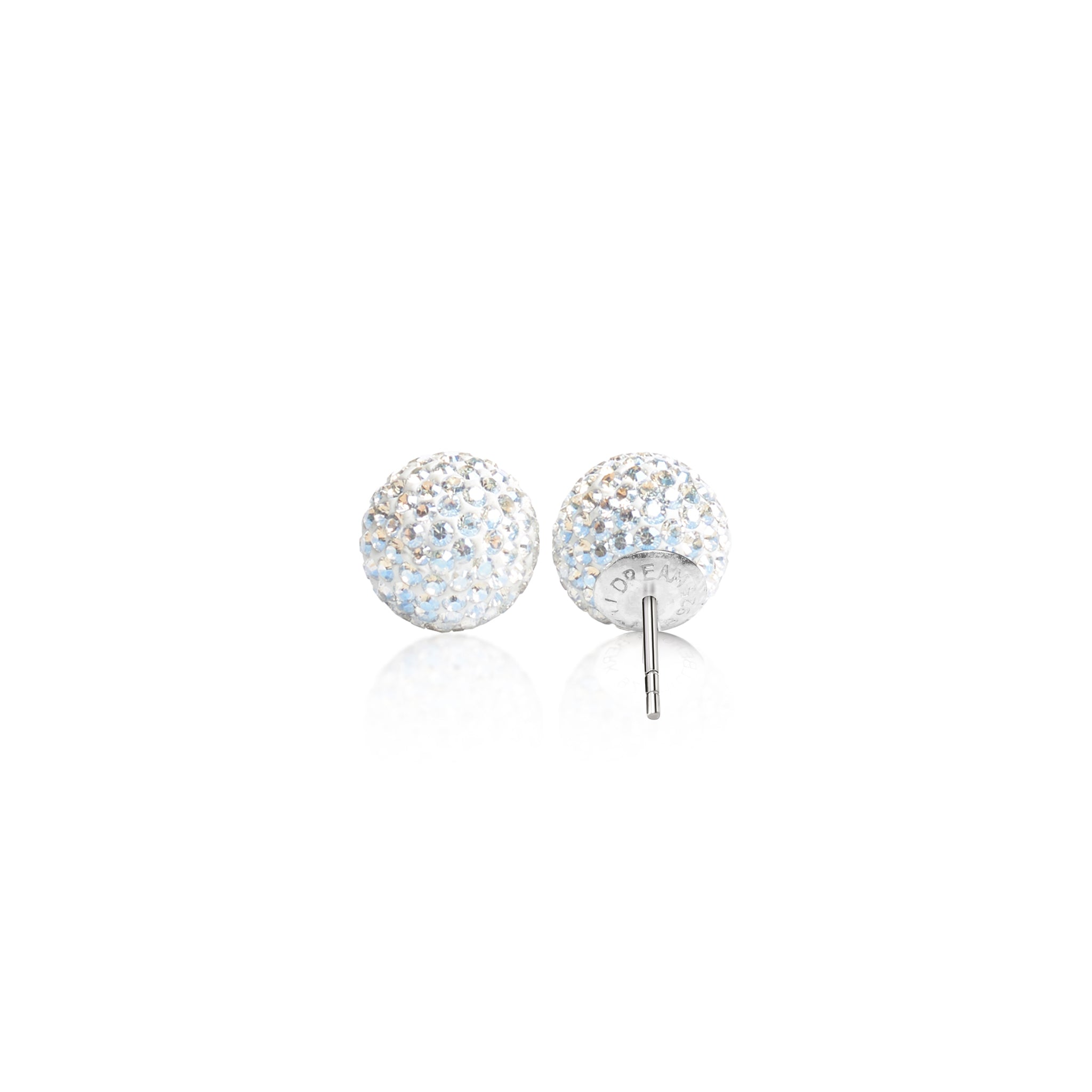 Brilliance Sparkle Ball Stud Earrings