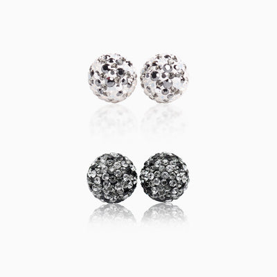 Sparkle Ball™ Stud Set 10mm Avalanche/Fade