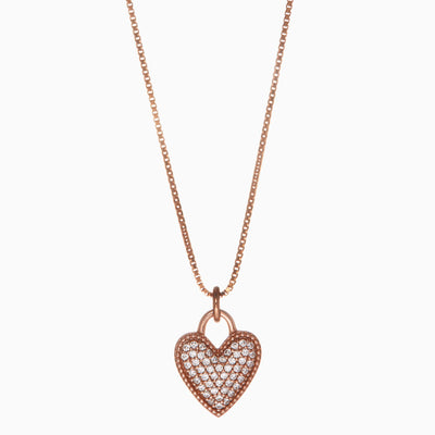 Bestie Necklace - Heart