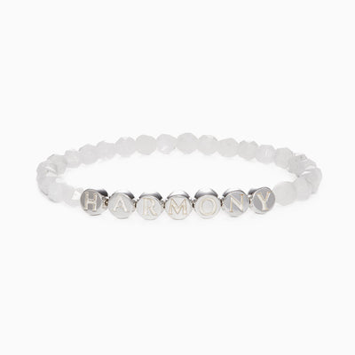 Lisa Gemstone Bracelet - Rainbow Moonstone