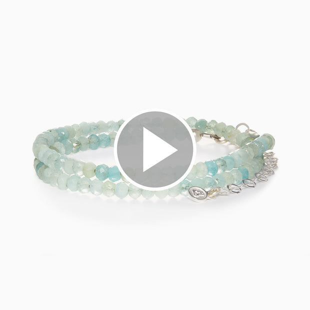 Eva Convertible Gemstone Wrap