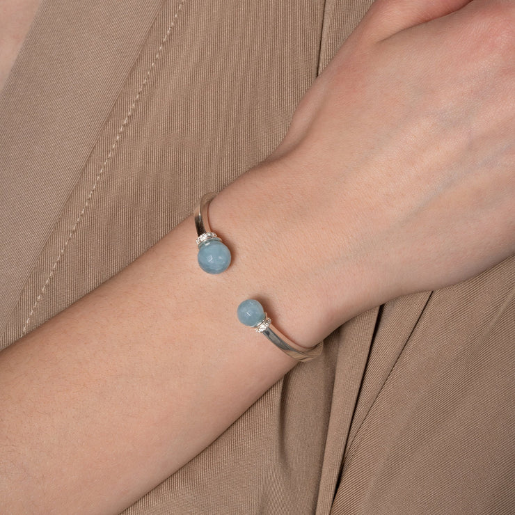 Lisa Gemstone Cuff