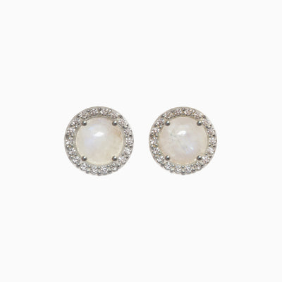 Lisa Gemstone Stud Earrings