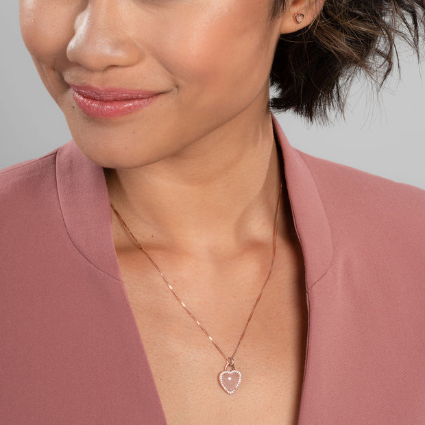 Christine Necklace With Halo