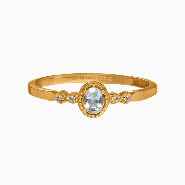Gemstone Birthstone Ring