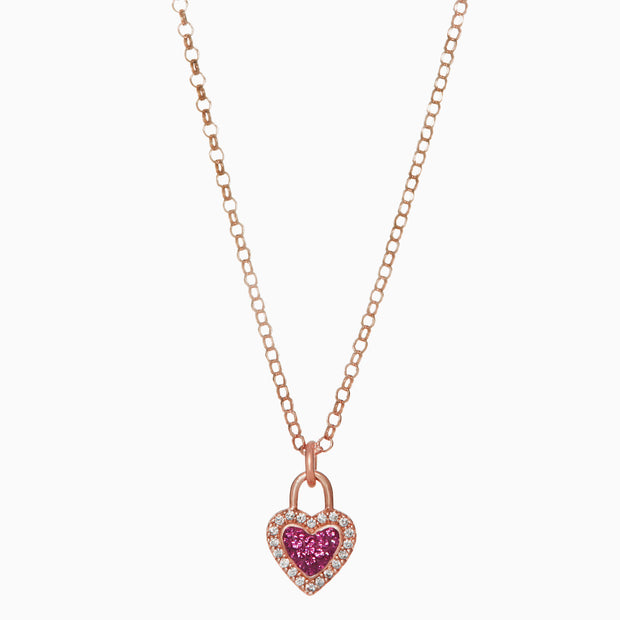 Sparkle Sweetheart Necklace Pendant
