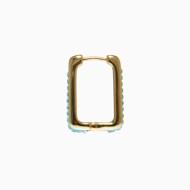 Sparkle Square Hoops