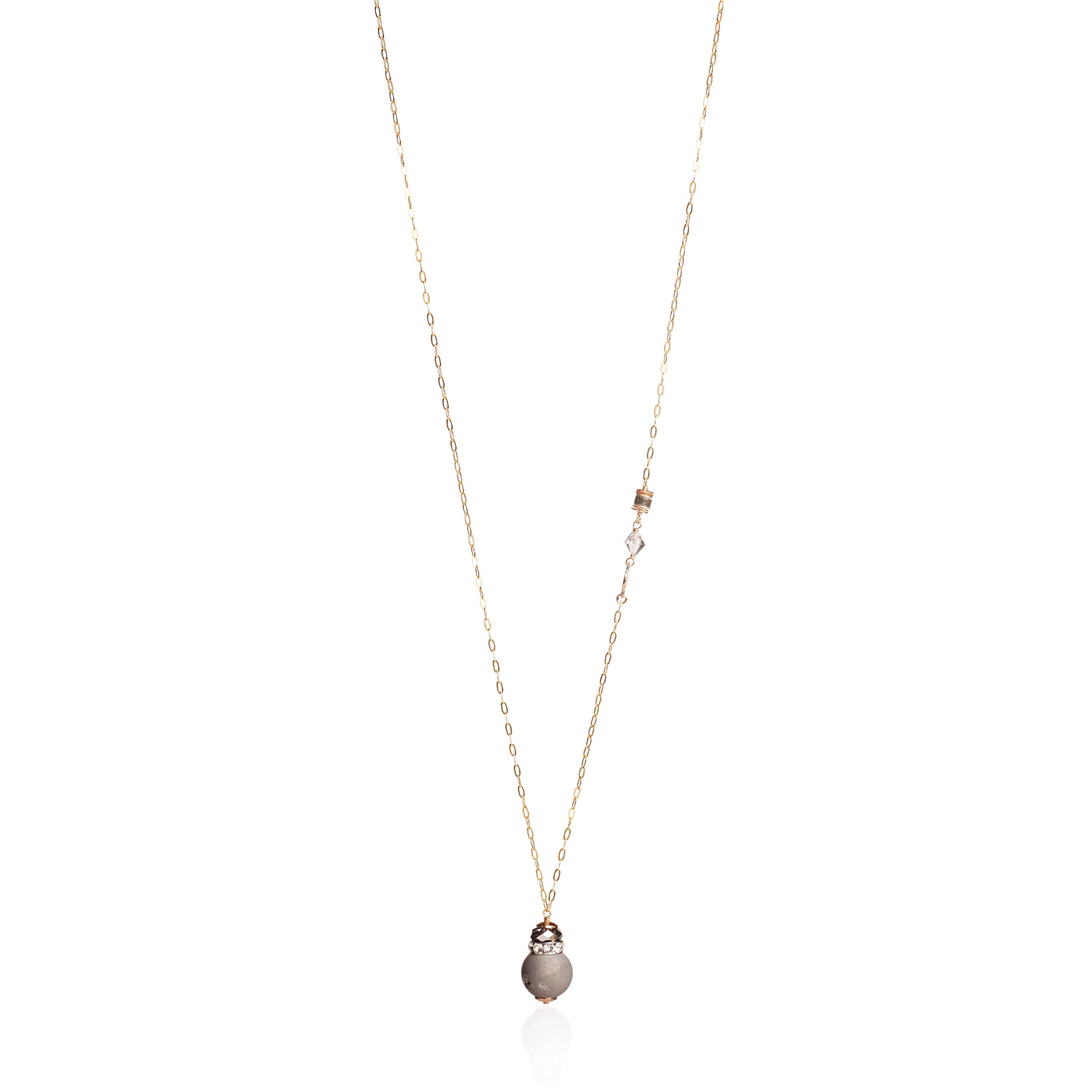 Carrie Necklace Pendant Long