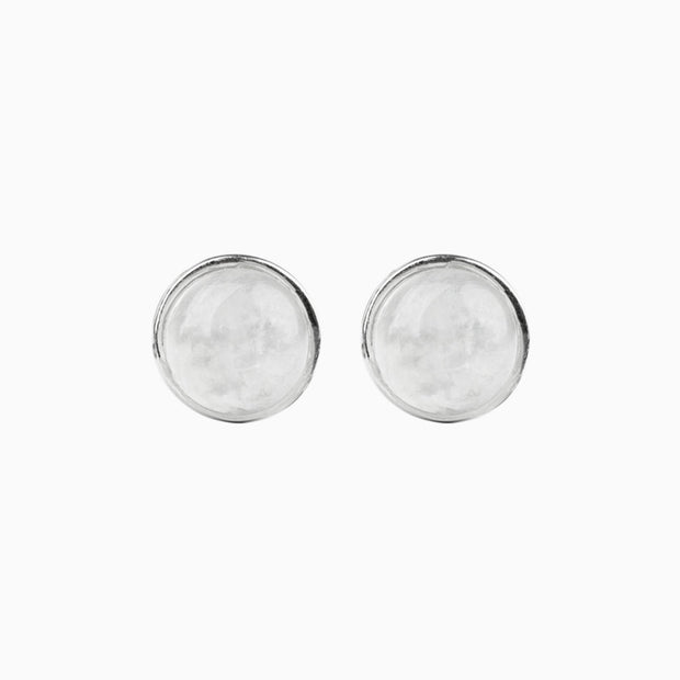 Esme Gemstone Stud Earrings
