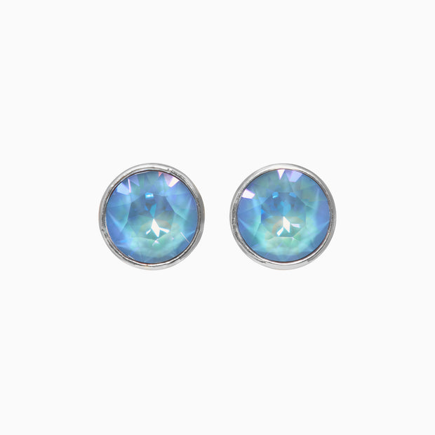 Esme Crystal Studs - Orchid