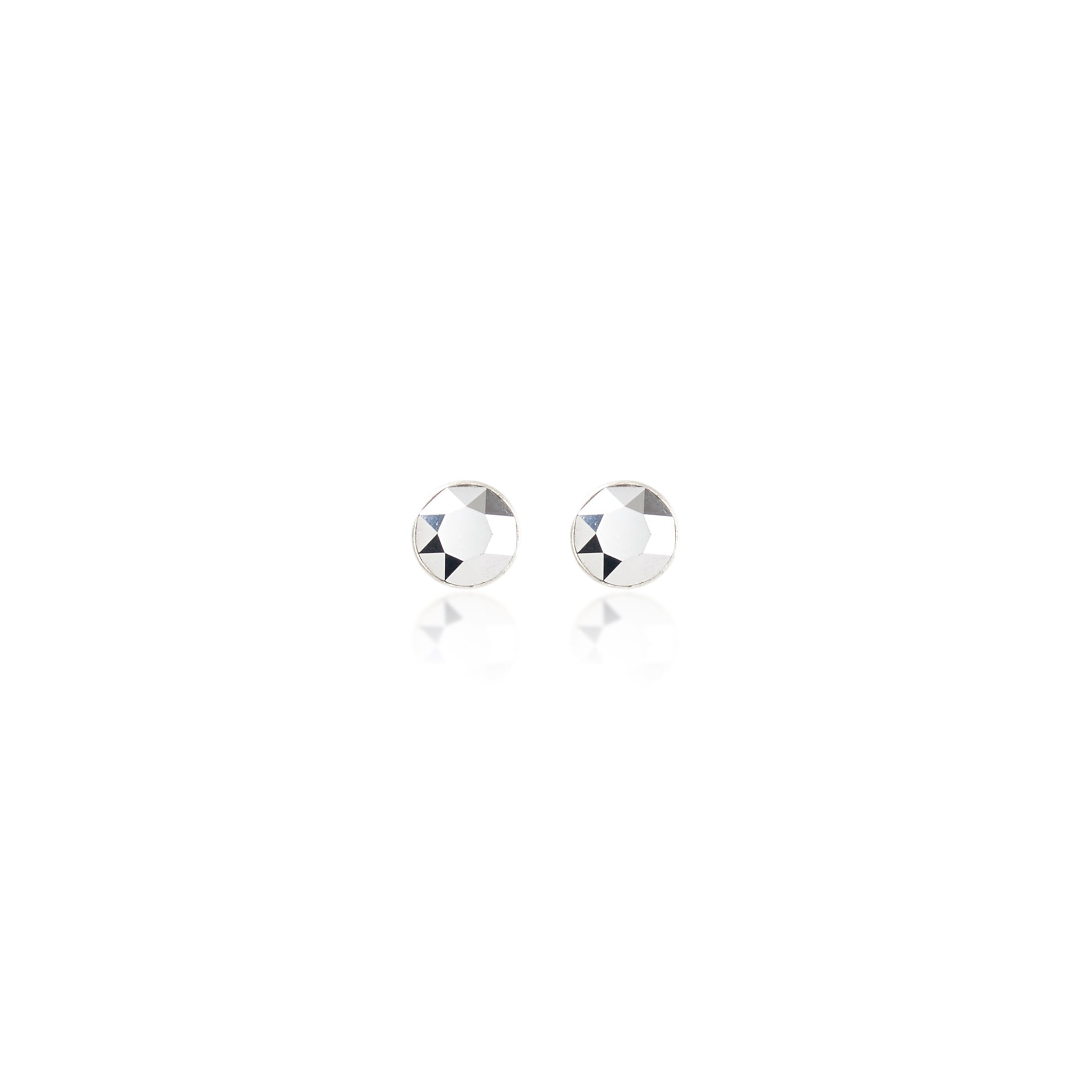Eden Earrings Chrome