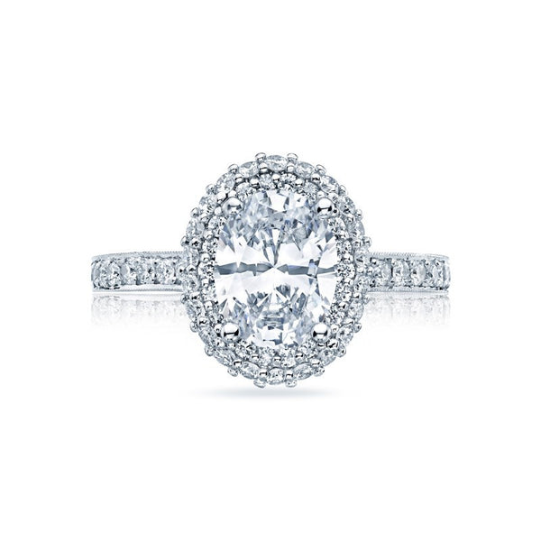Tacori Blooming Beauties - HT 2522 OV 9x7 W