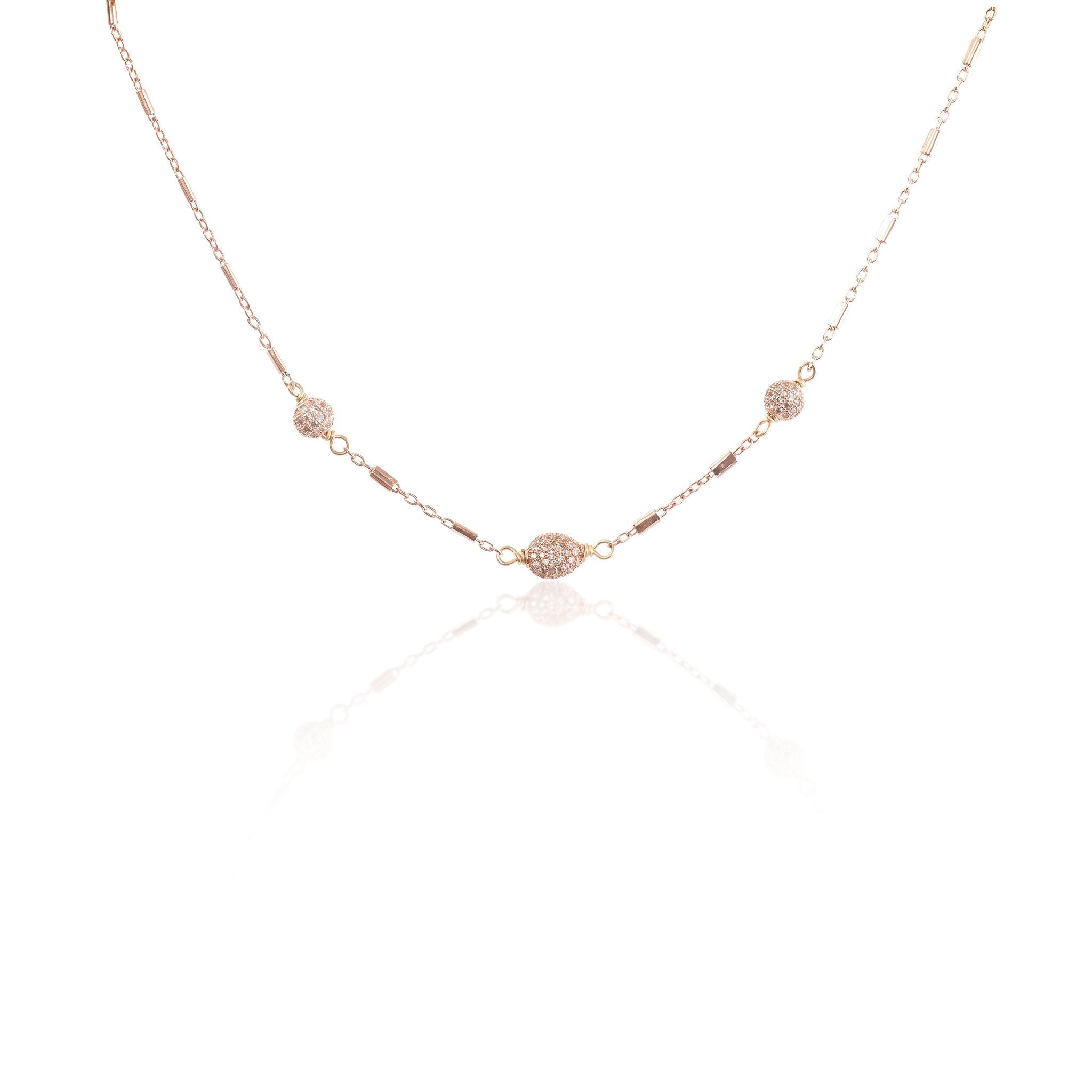 Joni Choker (Rose Gold)