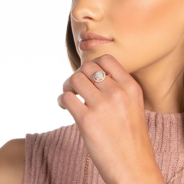 Sparkle Ball™ Halo Ring