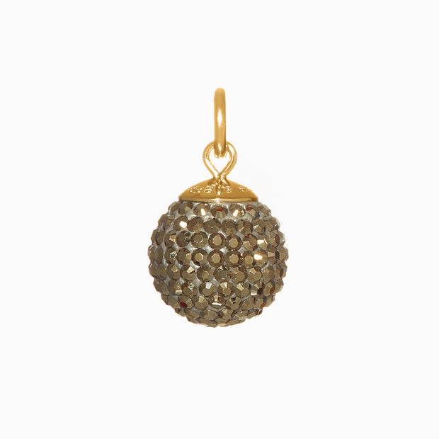 Pyrite Sparkle Ball™ Long Necklace Pendant