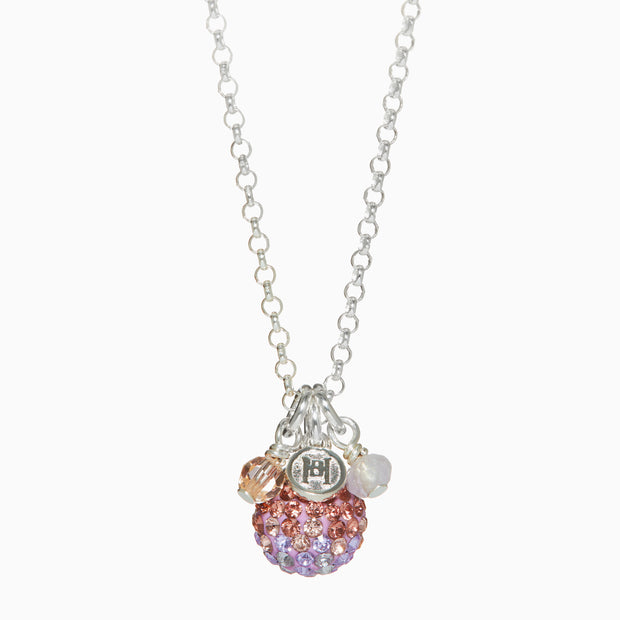 Lavender Sparkle Ball™ Necklace Cluster