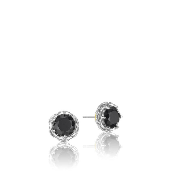 Classic Rock Crescent Crown Studs - SE10519