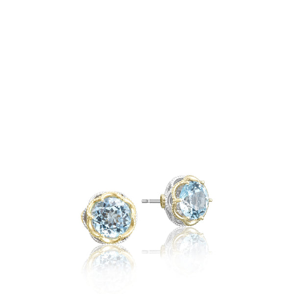 Island Rains Crescent Crown Studs - SE105Y02