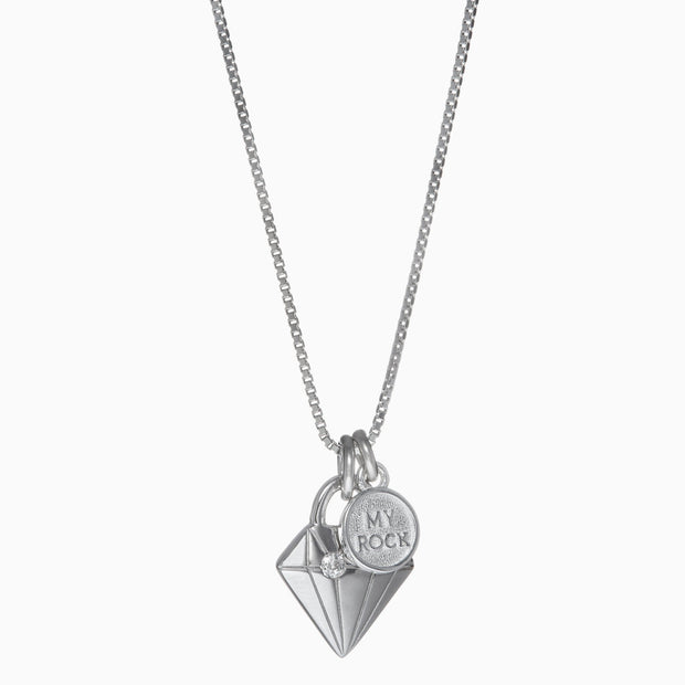 Bestie Necklace - Diamond