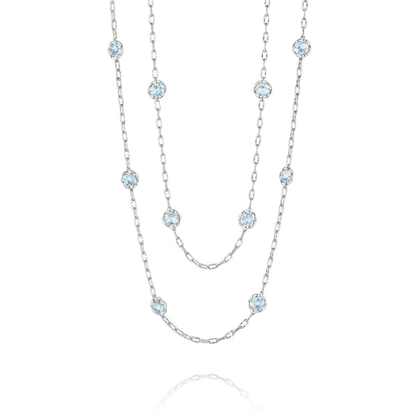 Tacori Blue Topaz Necklace - SN10802