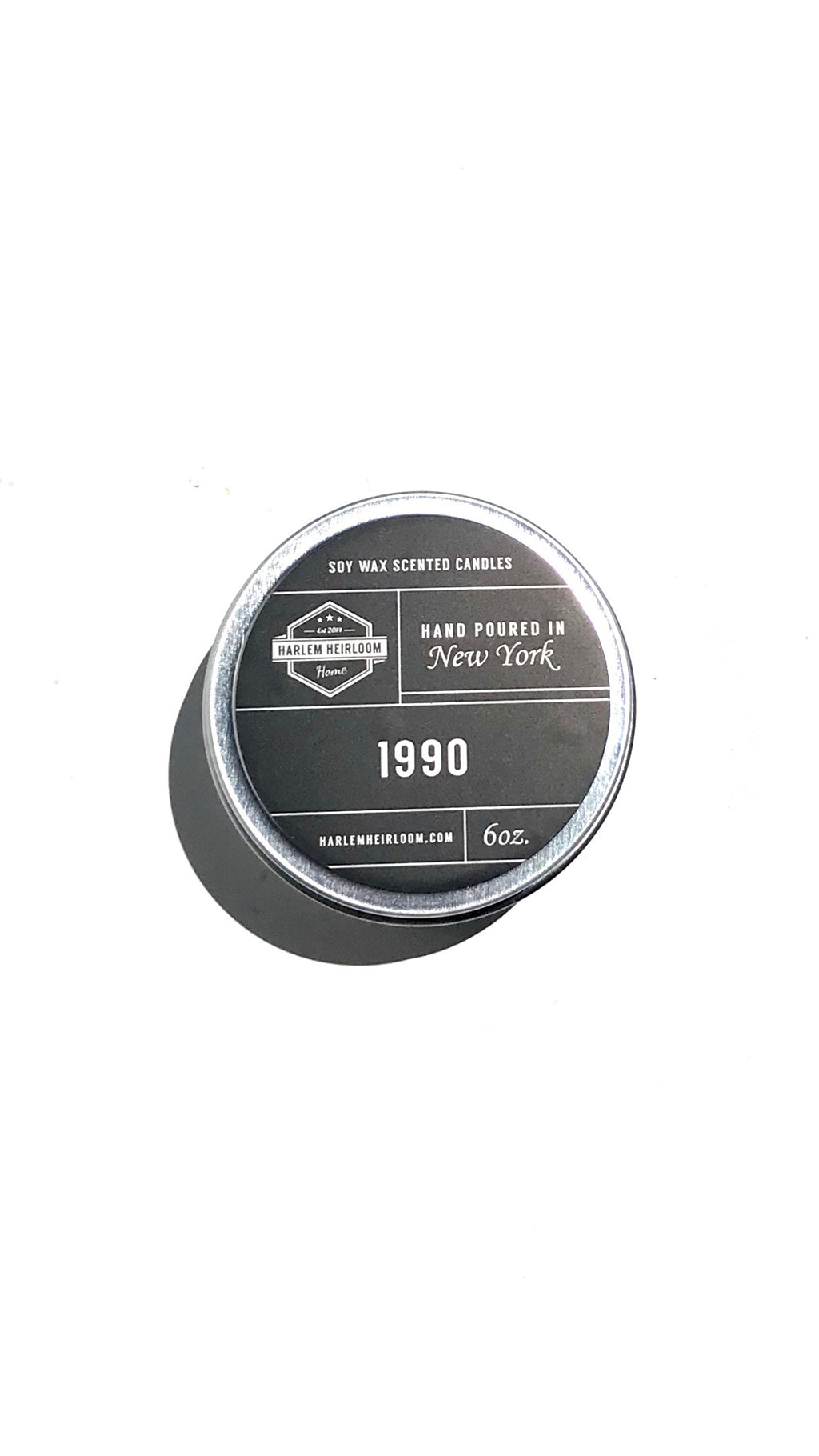 NEW RELEASE! 1990 Soy Candle