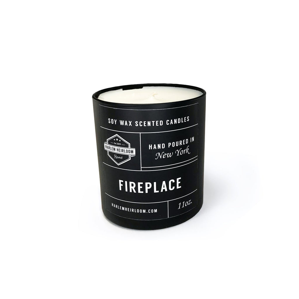Fireplace Soy Candle