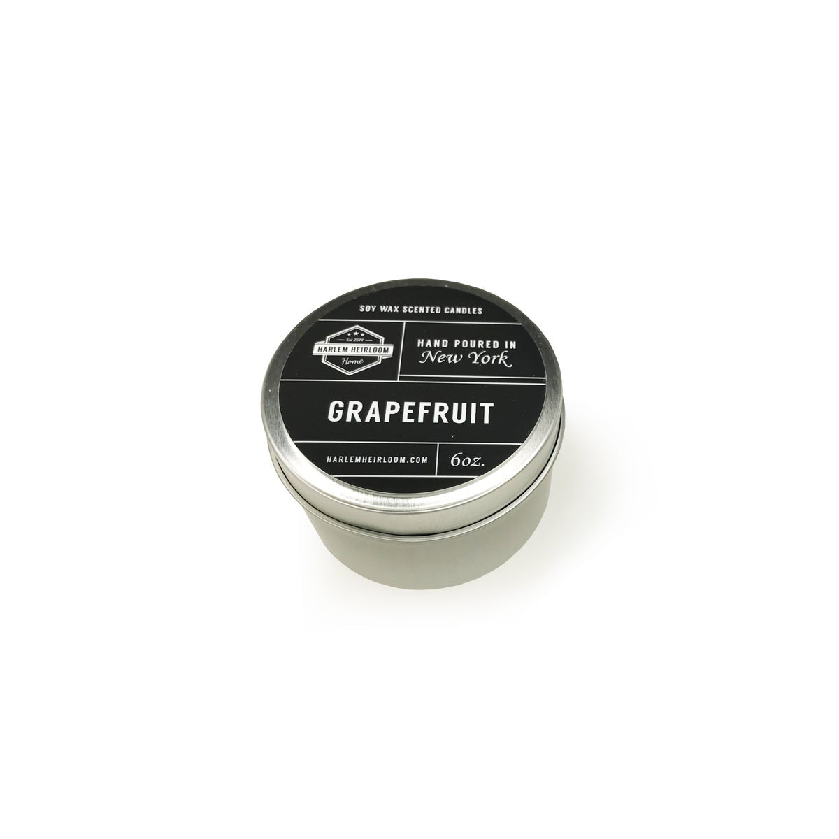 Grapefruit Soy Travel Candle