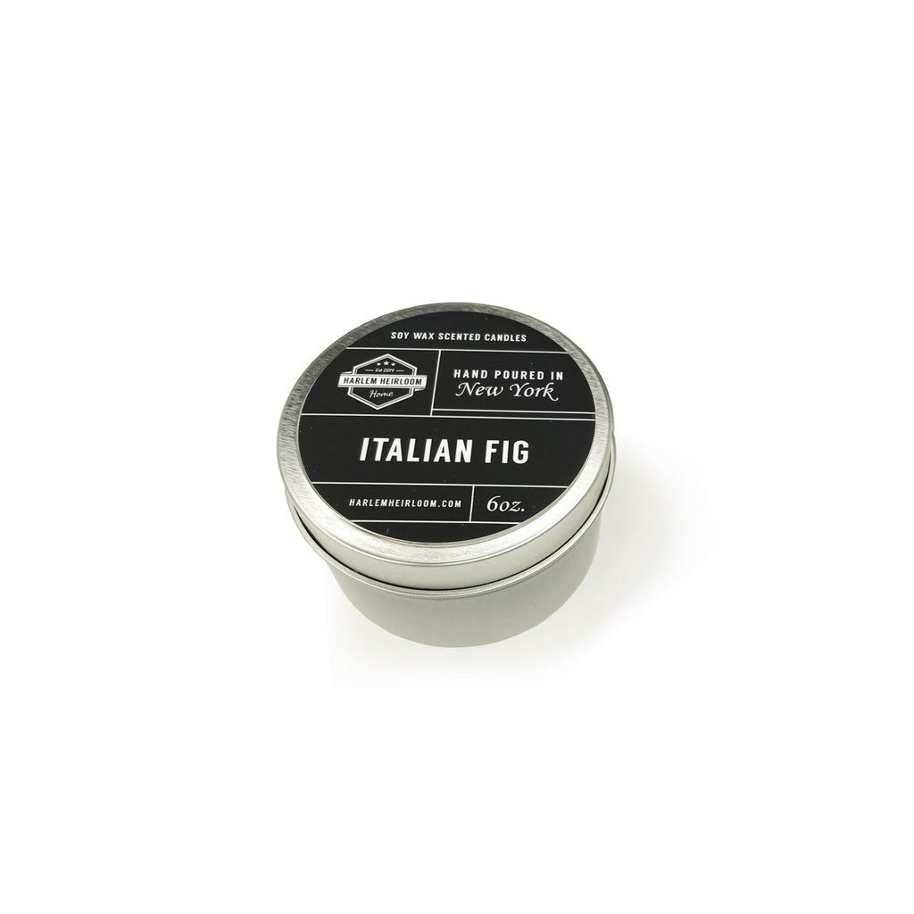 Italian Fig Soy Travel Candle