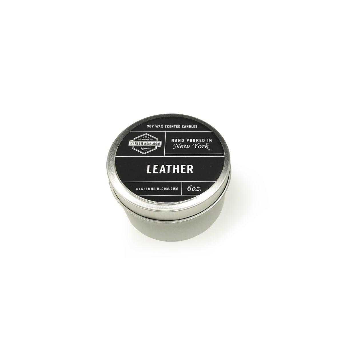 Leather Soy Travel Candle