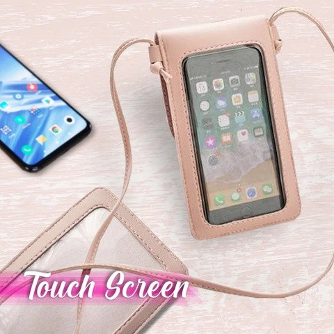 Women Cross Body Touch Screen Mobile Phone Bag