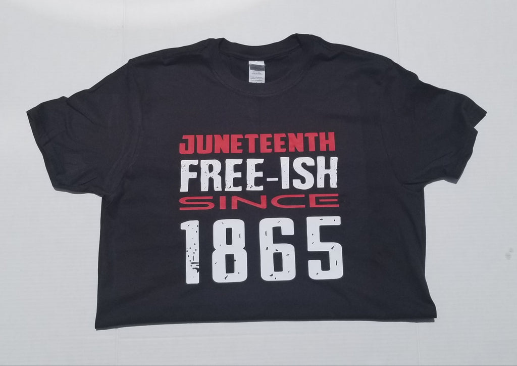 Kids Juneteenth Tee-Free Since 1865-Juneteenth Celebration-For the Culture-African American Culture