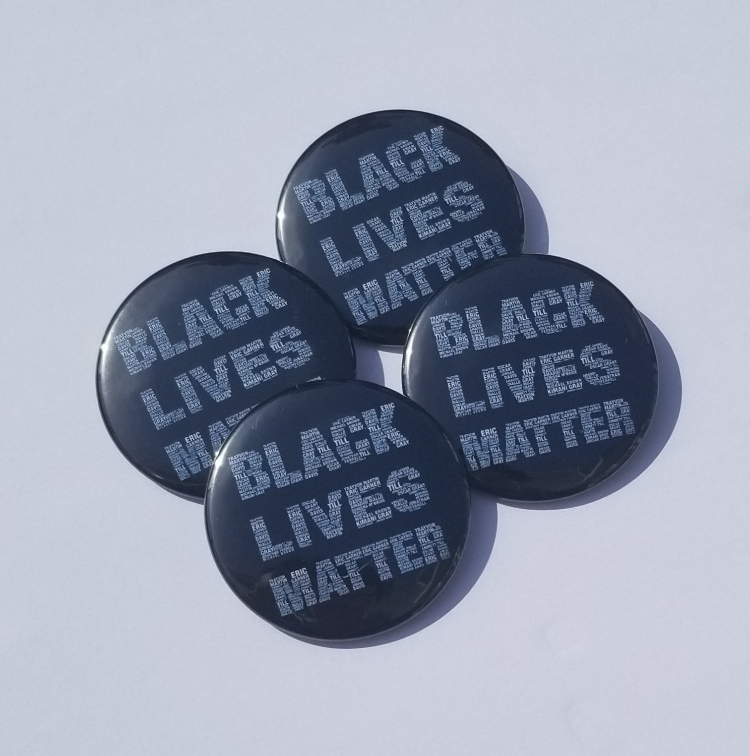 Black Lives Matter Pinback Button-African America- Freedom-For The Culture