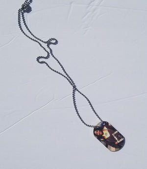 Dog Tag Necklace-Photo Necklace
