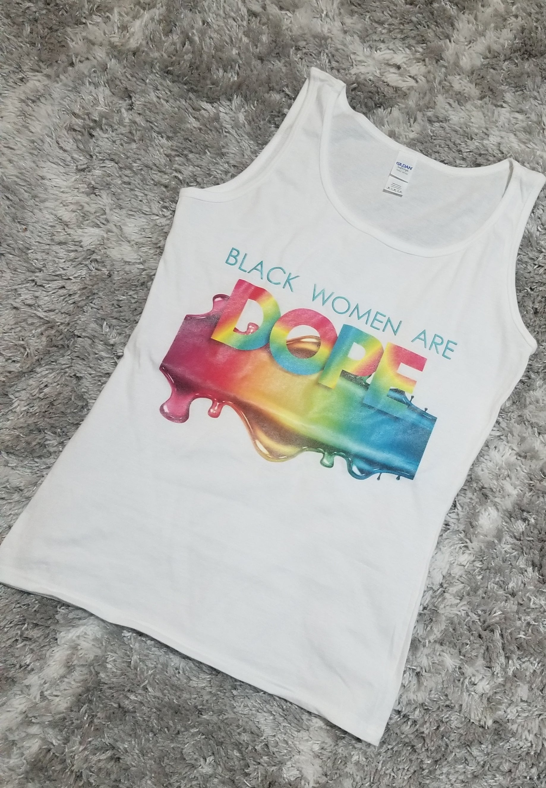 Black Women Are Dope Tank Top