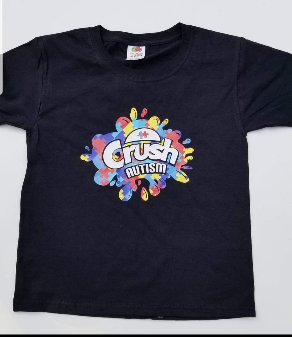 Youth Crush Autism Tee