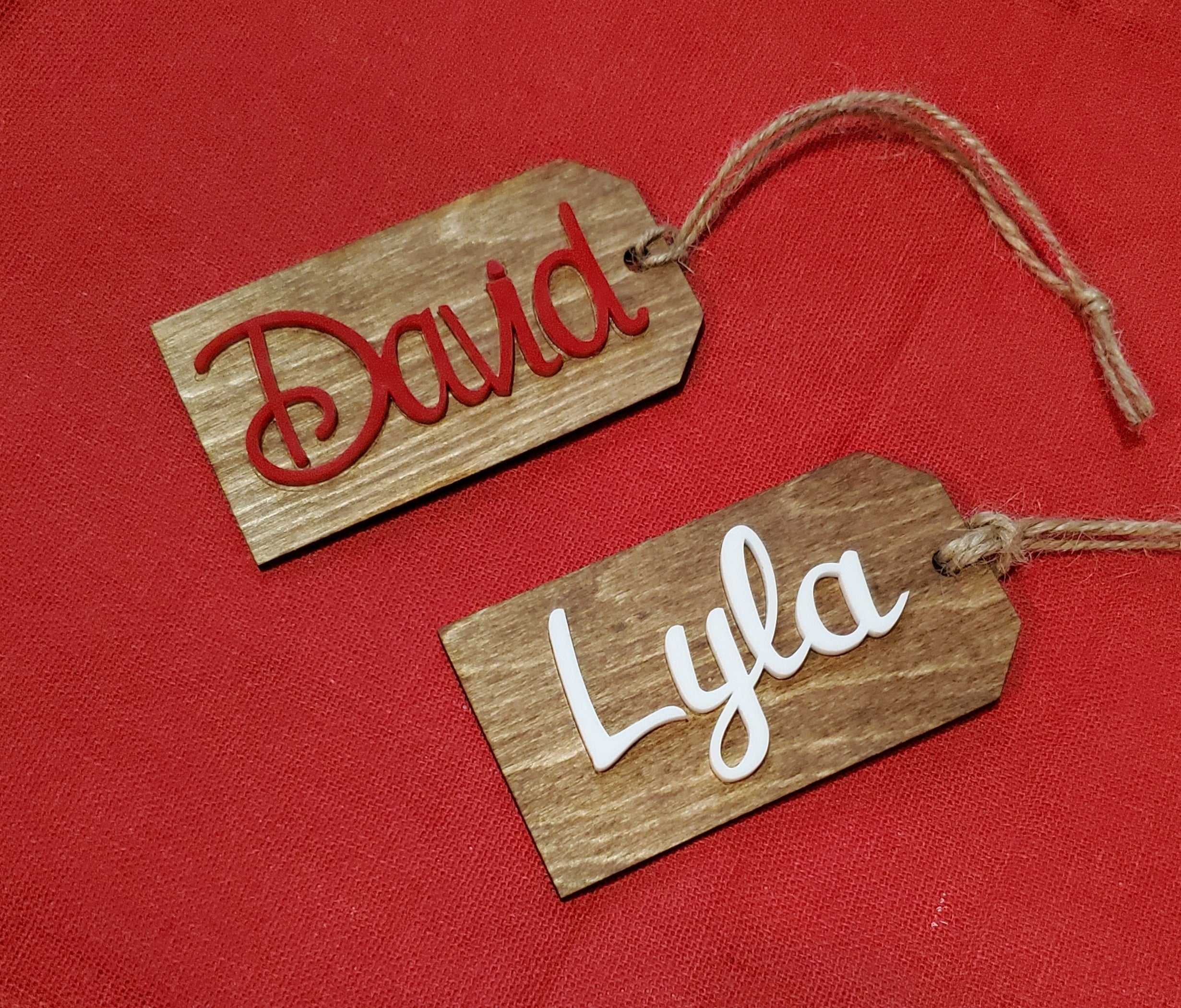 Personalized Name Tag