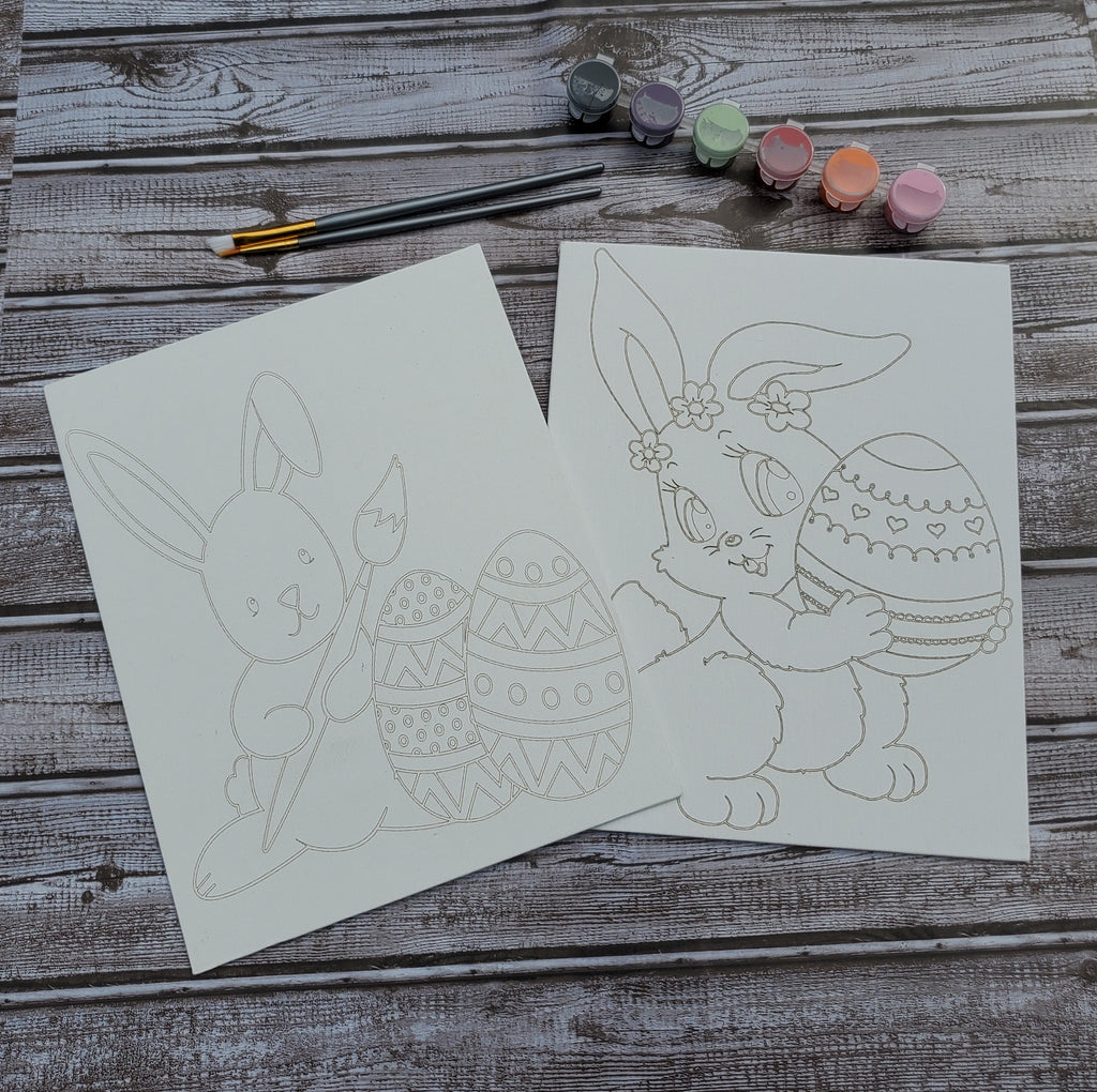 Easter Bunny Paint Canvas
