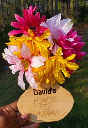 Personalized Flower Holder